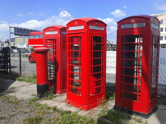 Londyńska Budka Telefoniczna - Wynajem lub SPRZEDAŻ