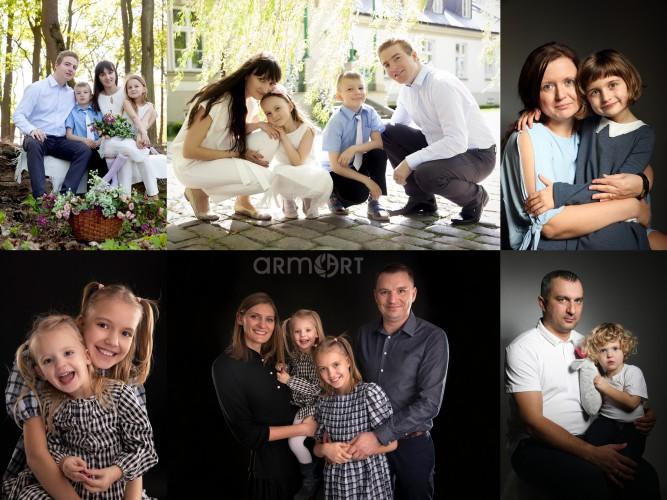 Sesja rodzinna / Studio fotograficzne / Stare Babice