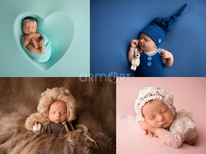 Sesja newborn / sesja noworodkowa / studio fotograficzne