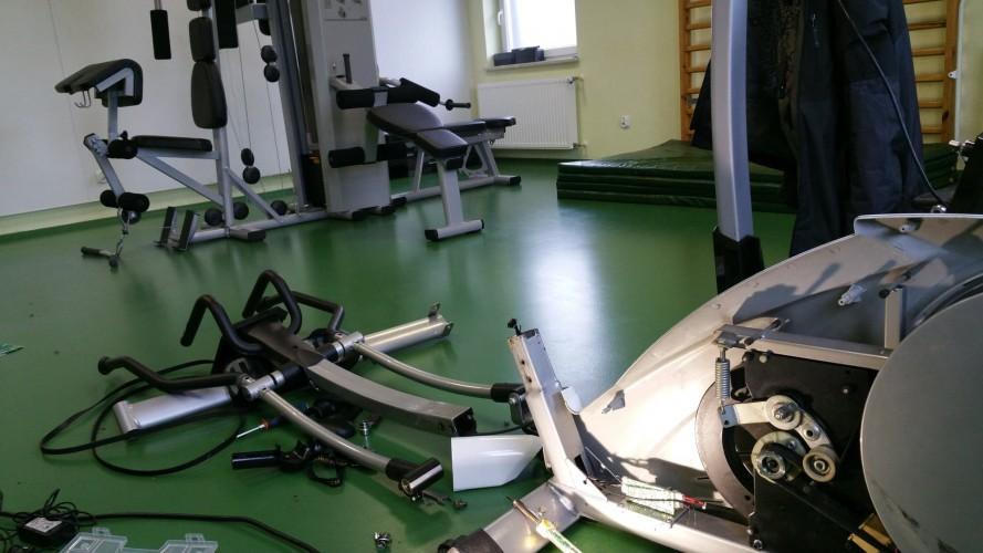 Serwis sprzętu fitness, medycznego - SZPITALE - SALE REHABILITACJI, Fizjoterapi Sanatoria